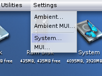 GettingStarted Ambient Menu System Settings.png