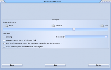 GettingStarted MorphOS Preferences Touchpad.png